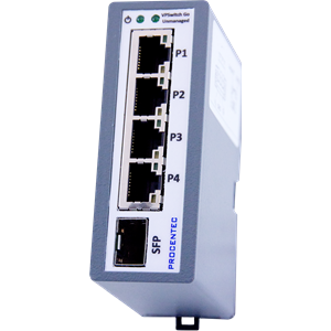 VPSwitch Go Unmanaged 4TX-1FX